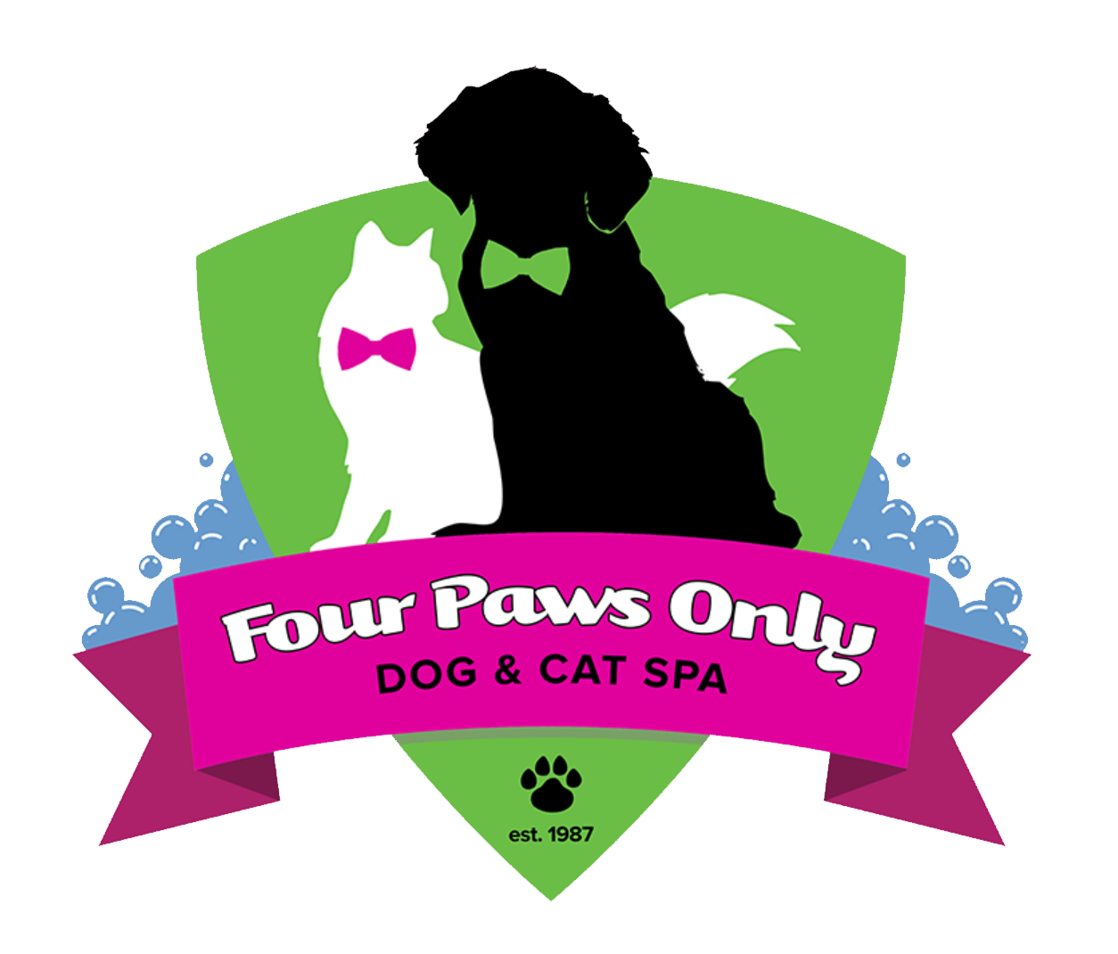 Four Paws Only Inc. Logo Design
